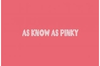AS KNOW AS PINKYの画像